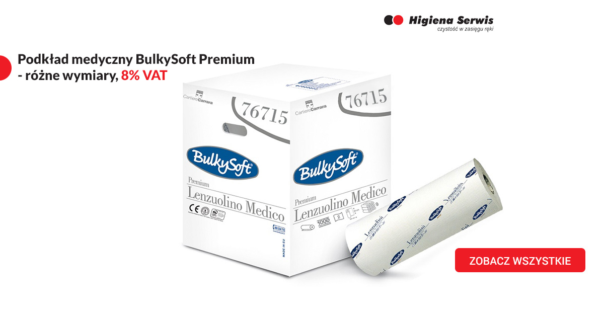 Podkłady medyczne BulkySoft