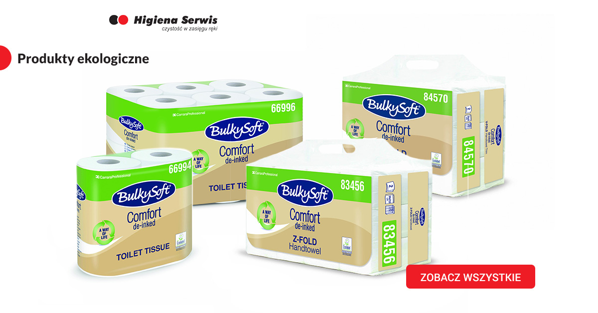 Ekologiczne papiery toaletowe
