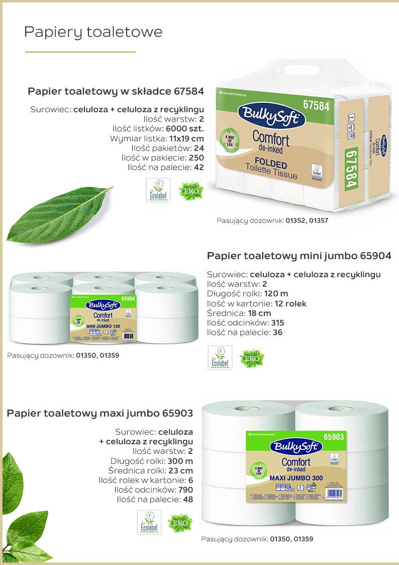 Papiery toaletowe katalog