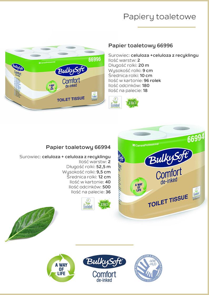 Ekologiczne papiery toaletowe katalog